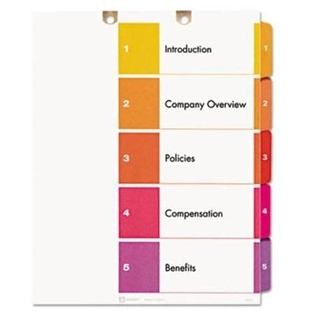 # Table Of Contents For Business Plan